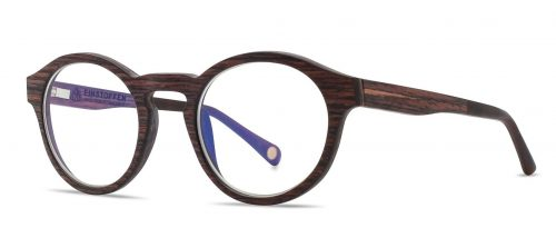 Holzbrille Blumenkind