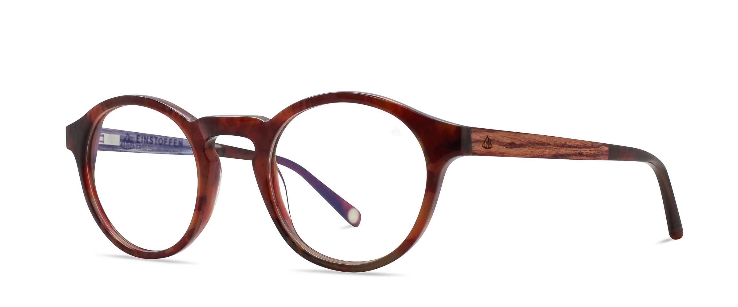 Holzbrillen und Steinbrillen von Einstoffen