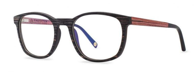 Holzbrille Schwarzbrenner