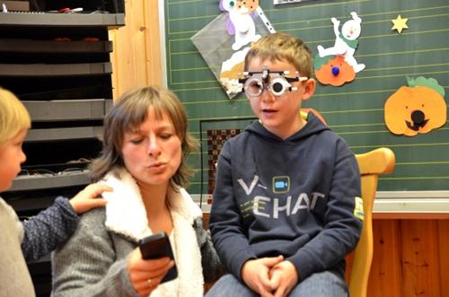 Hausbesuch vom Optiker