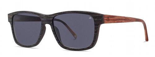 Sonnebrille Holz Schwarzfahrer