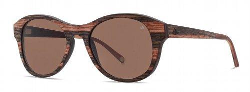 Sonnenbrille Holz Entdecker