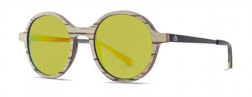 Sonnenbrille Holz Tropenforscher