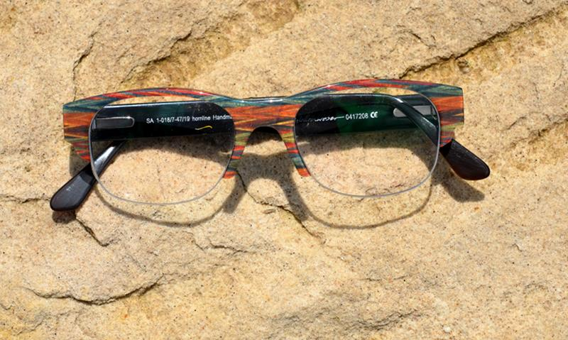 Hornbrille büffelhorn