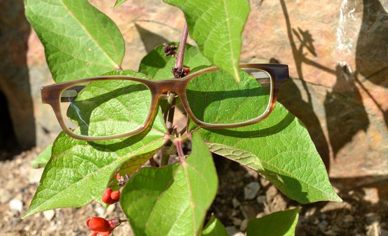 büffelhornbrille handarbeit