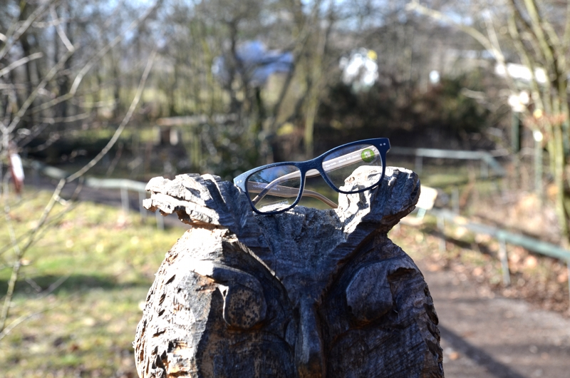 Papierbrillen - Kinderbrille aus Baumwolle