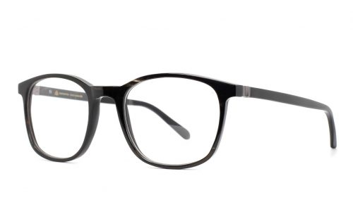 Büffelhornbrille Schnapsbrenner, Horn schwarz