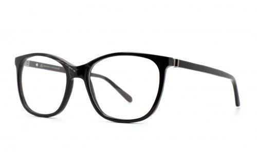 Büffelhornbrille Seidensticker, Horn schwarz