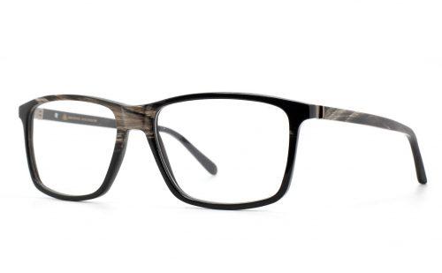 Büffelhornbrille Winzer, Horn schwarz