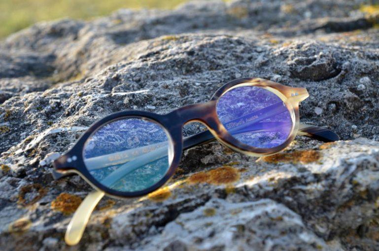 Hornbrille mit Blueblocker