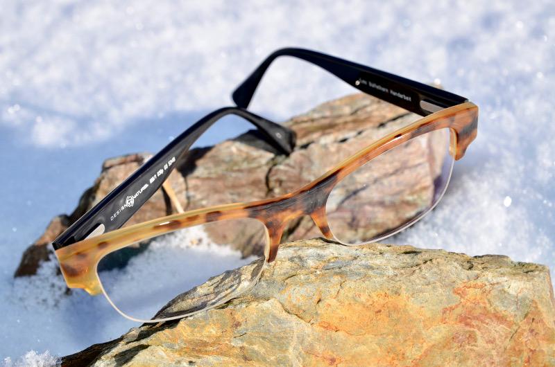 Nylorbrille aus Büffelhorn