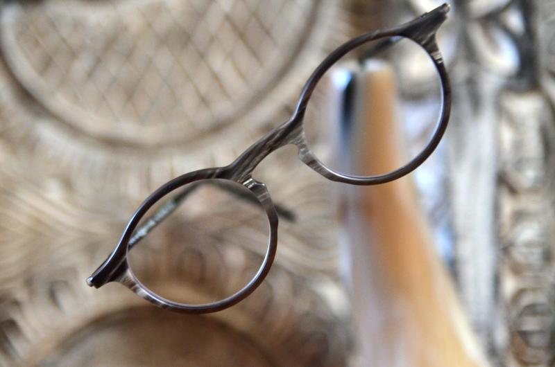 Design Naturell Hornbrille braun