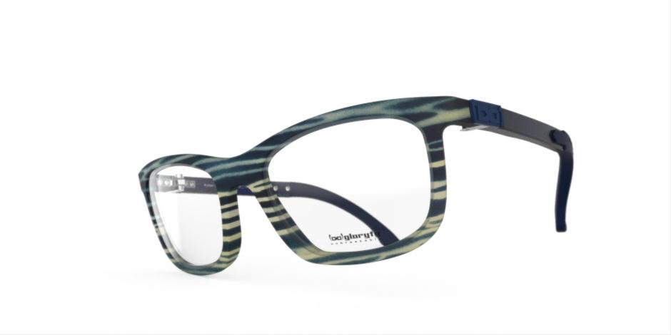 Unzerbrechliche Brille von Christoph Egger Felline Aqua