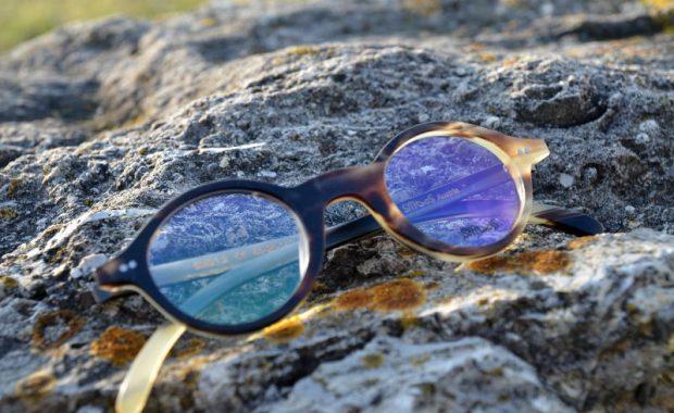 Hornbrille Schafhorn
