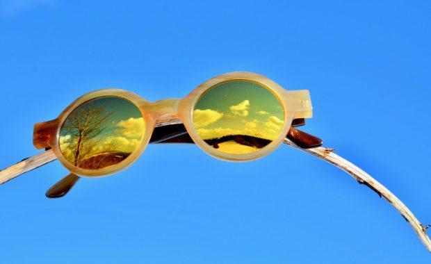 Hornbrille Sonnenbrille mit Kantenfilter