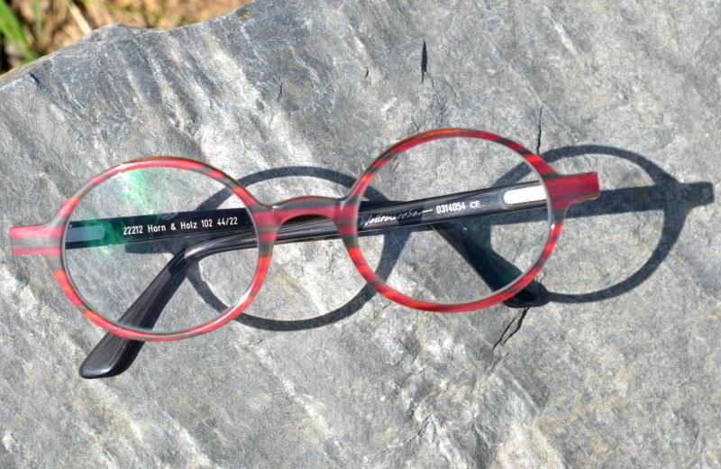 Hornbrille Wollenweber