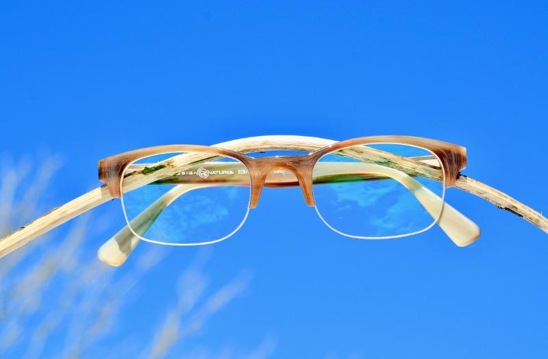 echte Hornbrille