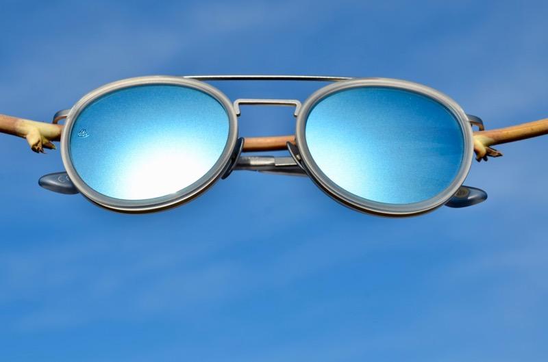 Sonnenbrille satiniert